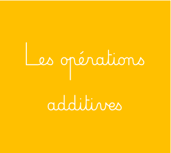 Les operations additives2 1